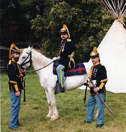 Tenue de parade cavalerie US 1872