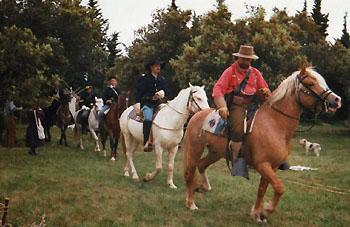 Patrouille de cavalerie US