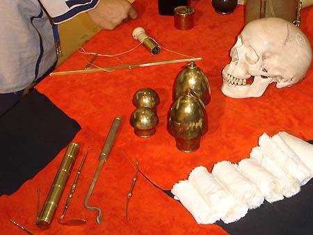 Matériel médical romain