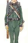 Fusilier équipé d'un Baker rifle