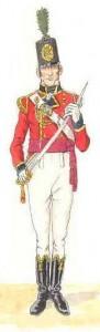 Officier foot guard