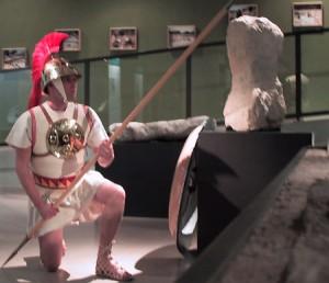Le guerrier de Lattes, reconstitution Pax Augusta