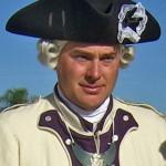 Officier francais fin 18ème