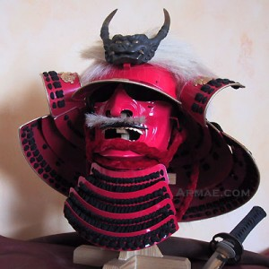 Kabuto et mempo, période Edo
