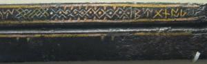 Détail de la sax de Beagnoth