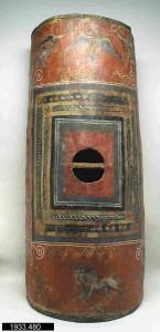 Scutum de Dura Europos, photographie Yale Art Museum