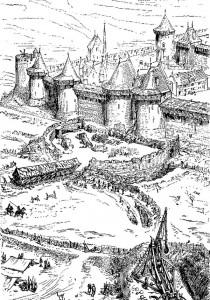 Siège au XIIIème siècle