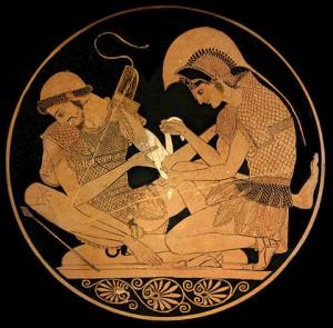Achille et Patrocle