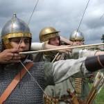 Archers auxiliaires, empire romain
