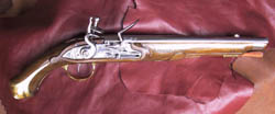 pistolet_d_arcon_1733, contemporain de la bataille des cardinaux