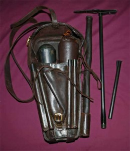 Pompe et recharges de la carabine Girandi