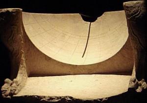 cadran solaire grec, IIIeme siecle AVJC