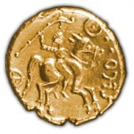 statere d'or des Catuvellauni (environs de l'an 0)