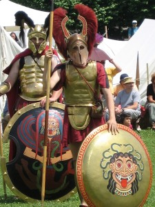 Hoplites à Saint Romain en Gal