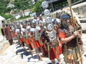 Legionnaires italiens à Saint Romain en Gal