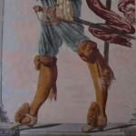 Souliers d'un hallebardier