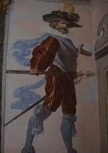 Combattant de l'armée du roi Henri IV