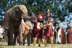 Carthago - les éléphants et guerriers de Carthage