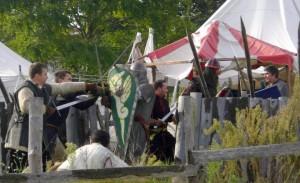 Le camp des mercenaires