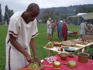 Cuisine romaine à St Romain en Gal