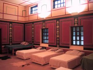 Salle de repos et massage