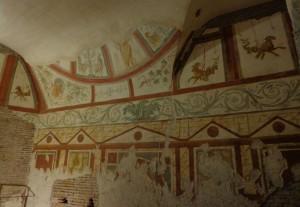 Fresques de la casa romane del celio