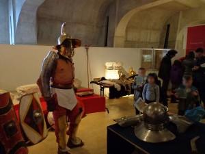Atelier pédagogique sur la gladiature