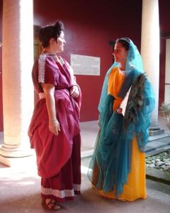 patriciennes à la villa d'Augst