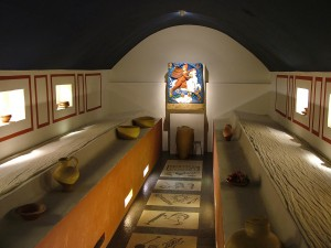 Mithraeum et sa salle de banquet