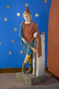 Cautopates, porteur de torche de Mithra