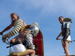 Gladiateurs Ars Dimicandi à Saint Romain en Gal