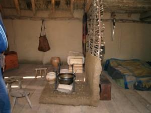 Le logement des charpentiers gaulois