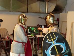 Légionnaires du 3ème siècle, tournage du Métronome