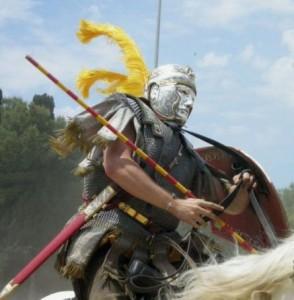 Cavalier romain, premier siècle