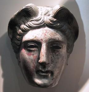 Visage, cavalerie romaine