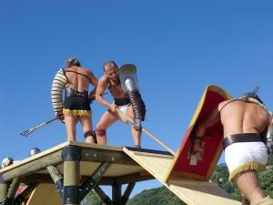 Gladiature pendant les journées gallo romaines