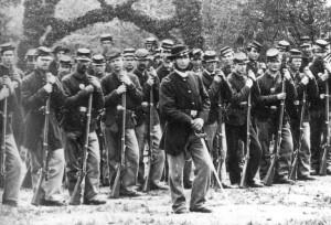 Régiment équipé de Springfield 1842