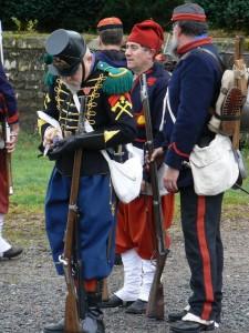 Chasseur à pied de la garde, arquebusiers de l'Est
