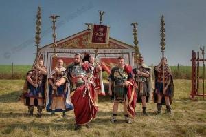 Hadrien a Samara, Valerio Bello et Leg VIII Augusta