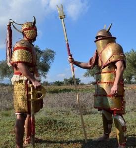 Archéologie expérimentale de l'âge du bronze, Koryvantes