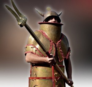Guerrier de l'age du bronze - Association Koryvantes