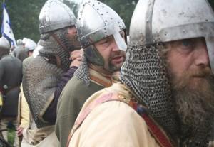 Reconstitution de la bataille d'Hastings