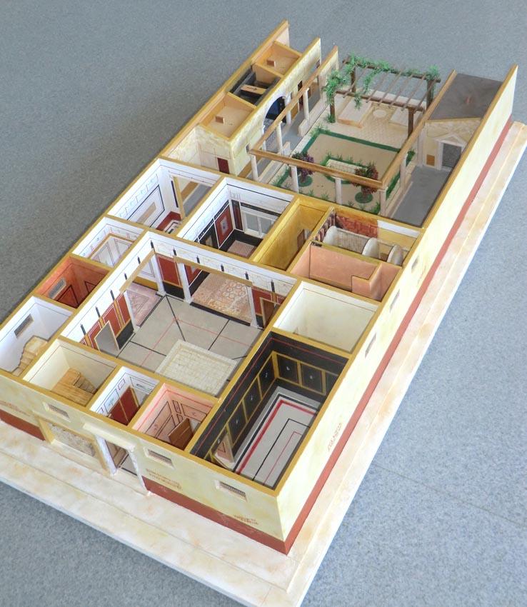 une reconstitution utile pour p n trer l 39 intimit des romains armae. Black Bedroom Furniture Sets. Home Design Ideas