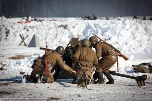 Reconstitution en Russie, photo de Simon Vannoye