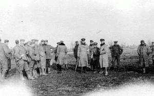 Une des rares photos montrant des allemands et anglais ensemble