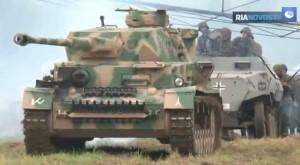 Reconstitution de la bataille de Koursk, juillet 2013